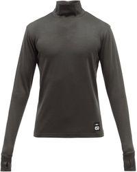 Phipps ロングスリーブ バージンウールtシャツ - マルチカラー
