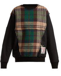 Vivienne Westwood - X Harris Tweed Organic Cotton Sweatshirt - Lyst