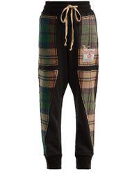 Vivienne Westwood - X Harris Tweed Organic Cotton Track Pants - Lyst