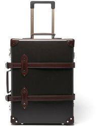 """Globe-Trotter Centenary 20"""" Carry-on Suitcase - Brown"""