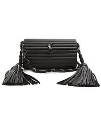 Saint Laurent - Opium Tassel-embellished Leather Cross-body Bag - Lyst