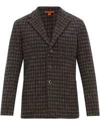 Barena Torceo Checked Tweed Blazer - Multicolour