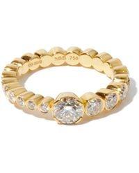 Sophie Bille Brahe Le Grand Rue Diamond & 18kt Gold Ring - Metallic