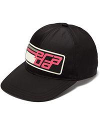 Prada - Sports Logo Baseball Cap - Lyst