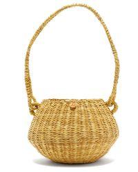 Muuñ Oriane Straw Basket Bag - Multicolour