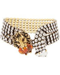 Dolce & Gabbana Anahata Diamond, Sapphire, Opal & 18kt Gold Ring - Pink