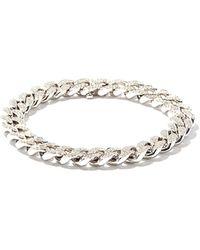 SHAY ダイヤモンド 18kホワイトゴールドチェーンブレスレット - マルチカラー