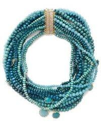 Rosantica By Michela Panero - Inganno Multi-strand Necklace - Lyst
