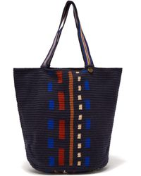 Guanabana - Striped Crochet Bag - Lyst