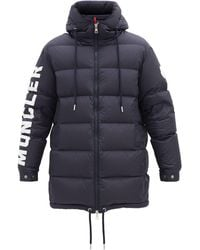 Moncler Moncenisio Down-quilted Padded Coat - Blue