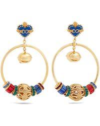 Dolce & Gabbana | Charm-embellished Drop Earrings | Lyst