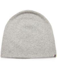 Extreme Cashmere No.77 Bijou Stretch Cashmere Beanie Hat - Gray