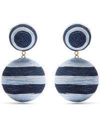Rebecca de Ravenel - Penny Drop Earrings - Lyst