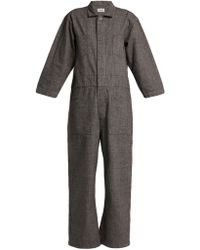827ee44af451 Chimala - Wide-leg Cotton-blend Jumpsuit - Lyst