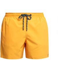 Marané Slim Fit Swim Shorts - Yellow