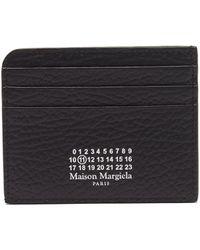 Maison Margiela グレインレザー カードケース - ブラック