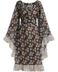 Lisa Marie Fernandez - Anita Polka Dot And Daisies Print Dress - Lyst