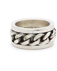 Emanuele Bicocchi Medusa Leather Bracelet - Multicolor