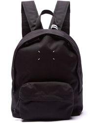 Maison Margiela - Stereotype Canvas Backpack - Lyst