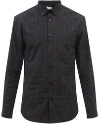 Burberry シムズ ヴィンテージチェック コットンシャツ - ブラック