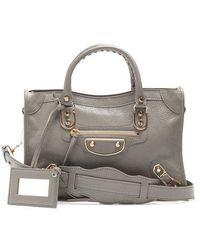Balenciaga - Metallic Edge City S Bag - Lyst