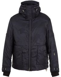 Neil Barrett - Hooded High-neck Camouflage Ski Jacket - Lyst