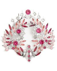 Givenchy - Crystal-embellished Brooch - Lyst