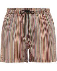 Paul Smith Signature Stripe Swim Shorts - Multicolour