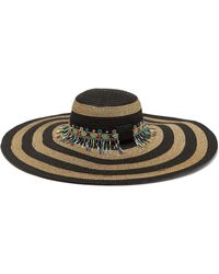 c0987fd3 Etro Grosgrain-trimmed Floral-print Straw Hat in Natural - Save 30% - Lyst