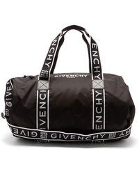 Givenchy 4g テクニカルボストンバッグ - ブラック