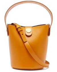Sophie Hulme - Nano Swing Leather Bucket Bag - Lyst