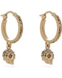 Simone Rocha Crystal-embellished Faux-pearl Ring - Metallic