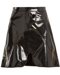 Ellery - Milky-way Pvc Mini Skirt - Lyst