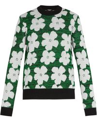 CALVIN KLEIN 205W39NYC - 1964 Flowers Alpaca And Wool-blend Jumper - Lyst