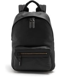 Lanvin | Smooth Grained-leather Backpack | Lyst