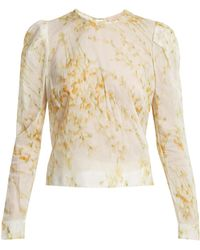 Brock Collection - Babette Sweet-pea Print Blouse - Lyst