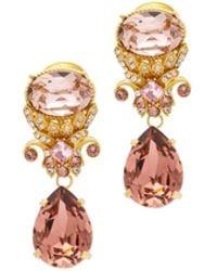 Chloé Anahata Diamond, Sapphire, Opal & 18kt Gold Ring - Pink