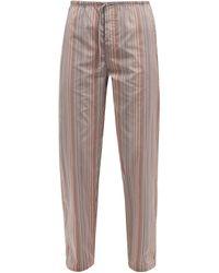 Paul Smith Signature Stripe Cotton Pajama Pants - Multicolor