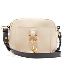 See By Chloé Tony Grained-leather Belt Bag - Natural