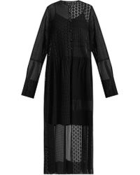 JOSEPH - Odette Patchwork Broderie-anglaise Dress - Lyst
