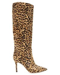 Gianvito Rossi - Leopard 85 Knee-high Boots - Lyst