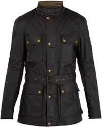 Belstaff | Roadmaster Patch-pocket Waxed-cotton Jacket | Lyst
