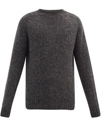 YMC ブラッシュドウール セーター - マルチカラー