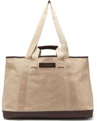 Want Les Essentiels De La Vie - Grantley Canvas Weekend Tote Bag - Lyst