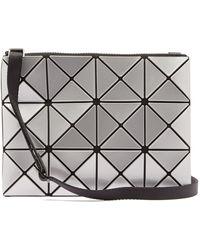 Bao Bao Issey Miyake Lucent Pvc Cross-body Bag - Metallic