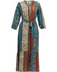 Chufy - Alqamar カリグラフィー サテンクレープドレス - Lyst