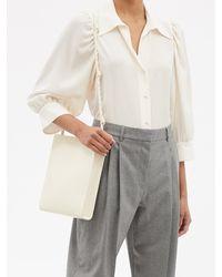 Stella McCartney リース シルククレープシャツ - ホワイト
