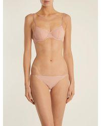 Bodas Smooth Tactel Bikini Briefs - Pink