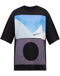 A_COLD_WALL* * ヘミスフィア オーガニックコットンtシャツ - マルチカラー