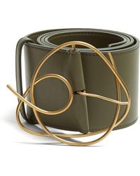 ROKSANDA - Twisted Buckle Leather Belt - Lyst